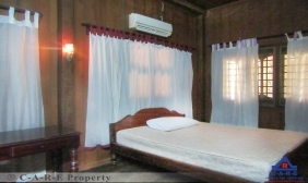 Nice 2 bedrooms Wooden House For Rent