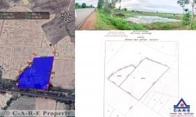 Urgent Land For Sale in Chikreng - Siem Reap